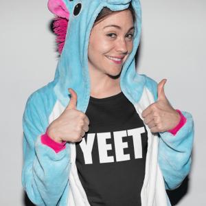 Womens YEET! T-Shirt