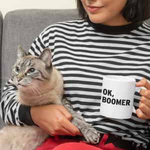Mug Ok, Boomer Gift Mug