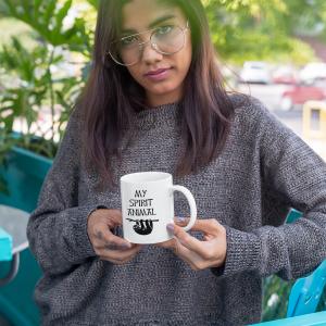 Mug Sloth is my Spirit Animal Gift Mug