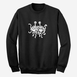 Flying Spaghetti Monster Unisex Adult Sweatshirt
