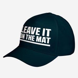 Hat Leave it on the Mat Adjustable Unisex Baseball Cap