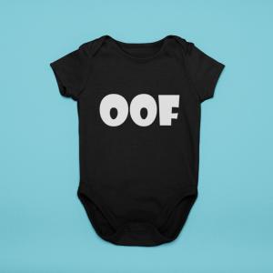 Baby Romper Oof Cotton Infant Bodysuit