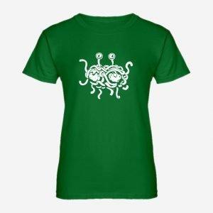 Womens Flying Spaghetti Monster T-Shirt