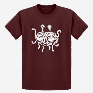 Kids Flying Spaghetti Monster T-Shirt