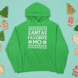 Santas Favorite Ho Unisex Adult Hoodie